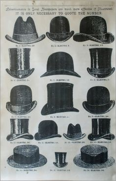 1920s Mens Hats: Great Gatsby Era Hat Styles