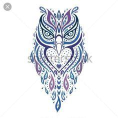 Výsledek obrázku pro owl tattoo design old school