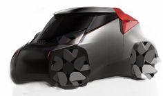 audi concept by zamkovenko Car Design Sketch, Car Sketch, Automotive Design, Auto Design, Design Cars, Flat Design, Microcar, Carapace, Smart Car