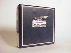 MLB Baseball Album in Blue