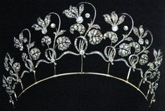 Faberge Tiara belonging to Her Highness Natalia, Duchess of Westminster, Mrs. Grosvenor.
