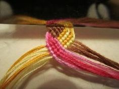 Lots of Friendship Bracelet Tutorials - Click image to find more DIY & Crafts Pinterest pins by colette