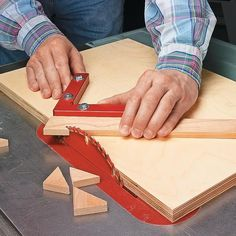 Miters Made Easy. Woodsmith Tips.
