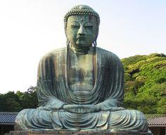 Великий Будда.  Храм в Камакура. Япония.