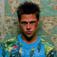 "History Lovers Club on Twitter: ""Brad Pitt for Fight Club 1999… """