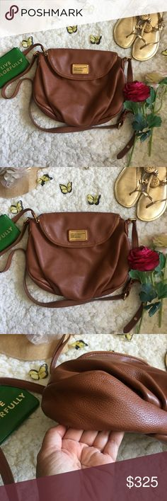 ❤Marc Jacobs Natasha Crossbody Purse❤ ❤In great used condition Marc Jacobs Natasha Crossbody purse In medium sized❤Used a few times❤Perfect  for Fall and for everyday use❤Very minimal scuffing on corners❤Please see all photos❤ Marc By Marc Jacobs Bags Crossbody Bags