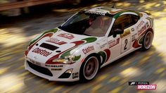 Toyota Developing GT86/FR-S Rally Car