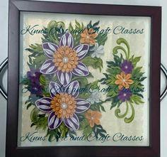 Framed floral 1