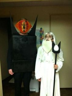 Sauron and Gandalf