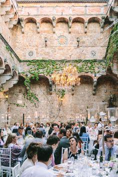 Photography : Alessio Quartaroli & Marta Puglia Read More on SMP: http://www.stylemepretty.com/destination-weddings/2015/01/13/elegant-tuscany-castle-wedding/
