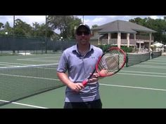 Adrian Zeman, Director of Tennis at Florida International Tennis Academy Sheraton Vistana Resort, goes over the elements of for putting effective topspin on your shots.