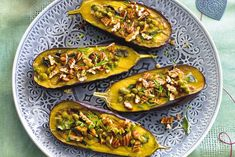 Roasted Eggplant with Orange Juice Dressing Lunch Recipes, Great Recipes, Vegetarian Recipes, Dinner Recipes, Roast Eggplant, Oven Dishes, 20 Min, Orange Juice, Food To Make