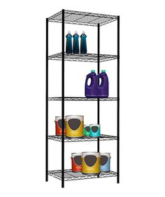Take a look at this Black 61'' Five-Tier Wire Shelf today!