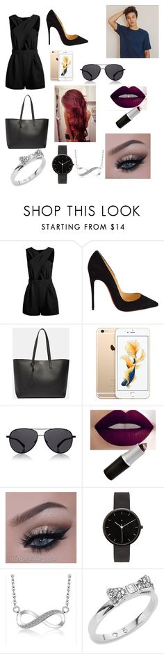 """""""Cameron Dallas #2"""" by delilahluna ❤ liked on Polyvore featuring Christian Louboutin, Yves Saint Laurent, The Row, I Love Ugly and Kate Spade"""