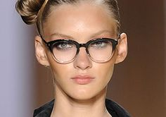 Two Tone Frame...Dress it up or leave it sporty..sport!    eyeglasses 2013 and celebrities pictures | Latest Eyeglasses Trends of 2013