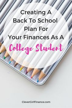 Waiting till you graduate to get serious about your finances? There's so much you can be doing right now to ensure your financial success but you need to get started first in order to succeed. Below are a few tips!
