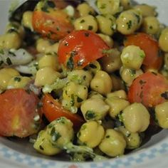 Chickpea Salad with Red Onion and Tomato - Allrecipes.com