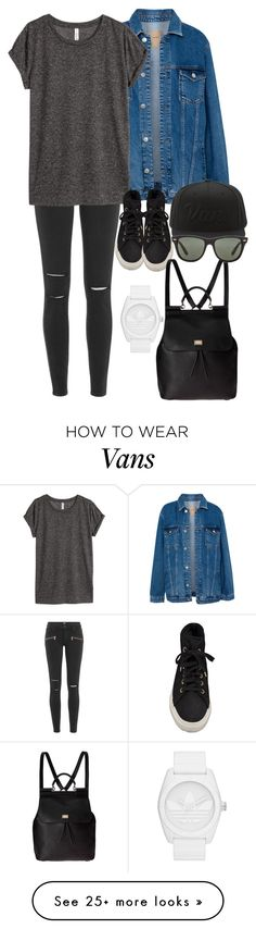 """Untitled #135"" by punkxniall on Polyvore featuring Pull&Bear, Paige Denim, H&M, Superga, Vans, adidas Originals, Dolce&Gabbana, Ray-Ban, StreetStyle and BeautyTrend"