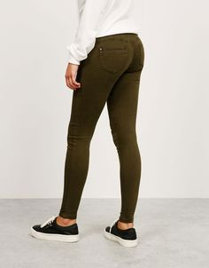 BSK 5 pocket Push Up trousers. Discover this and many more items in Bershka with new products every week