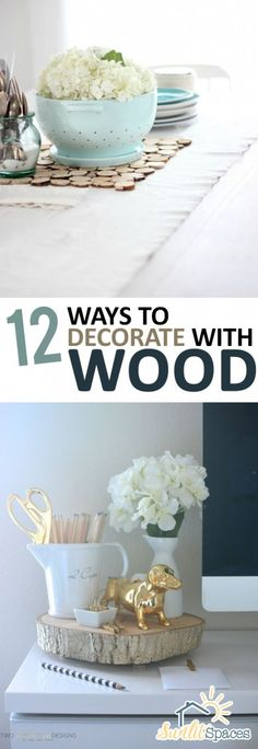 Decorating With Wood, How to Decorate With Wood, How to Repurpose Old Wood, Things to Do With Leftover Lumber, DIY Home Decor Ideas, How to Decorate With Wood Around the Home, Home Projects, DIY Home Projects