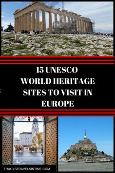 15 beautiful unesco world heritage sites to visit in Europe. A guide to 15 of the best UNESCO sites to add into your itinerary if you are visiting Europe. European Road Trip, European Vacation, European Travel, Europe Travel Tips, Travel Destinations, Time Travel, Travel Articles, European City Breaks, Cities In Europe