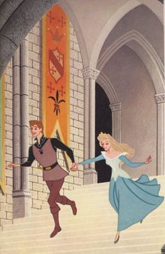 Disney's Sleeping Beauty original book artcover (1959).