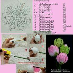 15 diy crochet flower patterns 1001 crochet by – Artofit Diy Crochet Flowers, Crochet Bouquet, Diy Crafts Crochet, Crochet Flower Tutorial, Love Crochet, Irish Crochet, Diy Flowers, Crochet Projects, Knitted Flowers