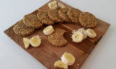 Banánovo ovesné sušenky