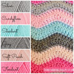 @ Thimbles and Rings: Olivia's Ripple Blanket - Lucy's free pattern here: http://attic24.typepad.com/weblog/neat-ripple-pattern.html