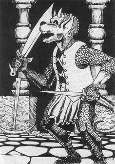 Kobold: Classic Dungeons and Dragons Monster. AD&D. RPG.