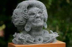 Steel Wool Art