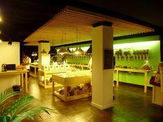 Granel-Granollers, tienda-franquicia de productos ecologicos/ store-franchise of organic products, Barcelona, Spain. Interior Energetic Design. http://interiorenergeticdesign.com/