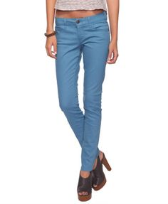 colored denim.. I really love these and only 23 dollars!