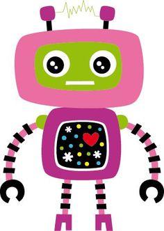 Song of Robot for children Robots For Kids, Art For Kids, Robot Images, Boys Quilt Patterns, Robot Theme, Robot Illustration, Retro Robot, Up Theme, Cute Couple Art