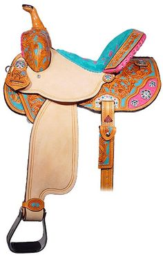 Pink Zebra Western Barrel Racing Horse Saddle 14 16 - for the girls! Description from pinterest.com. I searched for this on bing.com/images