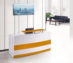 Source Modern White Curved Reception Deskfront Desk For Sale On Malibaba