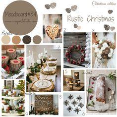 My moodboard on wednesday: rustic christmas