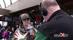Frankie Ballard 2nd Interview w/ Razz @ XTU Ski Day | #XTUNation