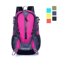 Amazon.com : Day Hiking Backpack, ZCL 32L International Travel Daypack Carry-On, Camping Climbing Trekking, Lightweight, Water-Resistant, Spacious, Comfortable, Vibrant, Yellow : Sports & Outdoors