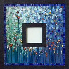 Glass Bottom Garden  mosaic artist: Sally of tinytilemosaics