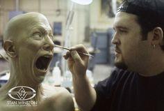 Trevor L. Hensley details a screaming puppet head of actor John Diehl for LOST SOULS.
