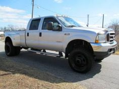 2004 Ford F-350 Diesel Dually Lariat Lifted Truck