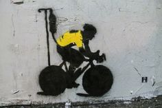 Lance Armstrong Doping Scandal Satirized in Los Angeles Street Art