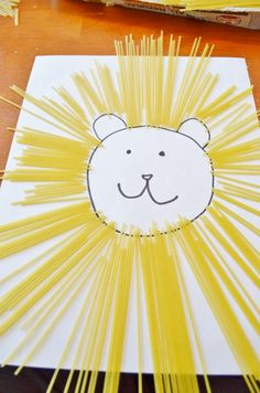 work on fine motor skills with spaghetti noodle pasta crafts and activities - 4 great ideas!