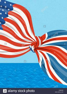 Stock Photo - American and British flags tied together in knot over ocean Flag Template, List Template, Templates Free, Panama Flag, Image American, British American, Photo Illustration, Illustrations, Wedding Table Decorations