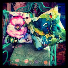 Cushion covers - and vintage chairs