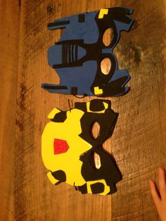 Bumblebee and Optimus prime party masks | boys birthday | Pinterest