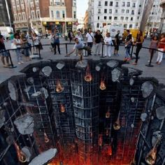 More cool chalk art