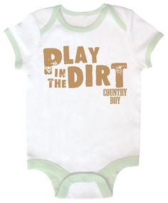 46863a547c Country Boy Baby Onesie. I must get! Lil Boy