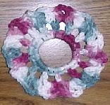 Scrunchie Crochet Pattern - Free Crochet Pattern C Crochet Pattern Free, Crochet Patterns Free Women, Crochet Headband Pattern, Crochet Headbands, Knit Headband, Baby Headbands, Crochet Mittens, Crochet Gloves, Crochet Hooks